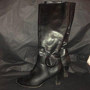 Liz Claiborne Black boots size 7